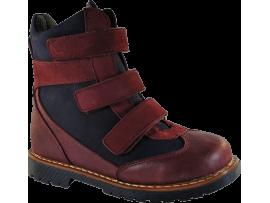 Обувь ортопедическая 4rest-orto (Форест-Орто) 06-569 бордовый/синий