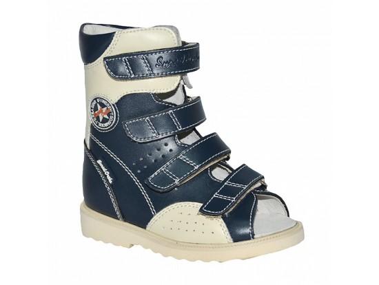 Детская обувь ортопедическая с высоким берцем СУРСИЛ-ОРТО 13-120