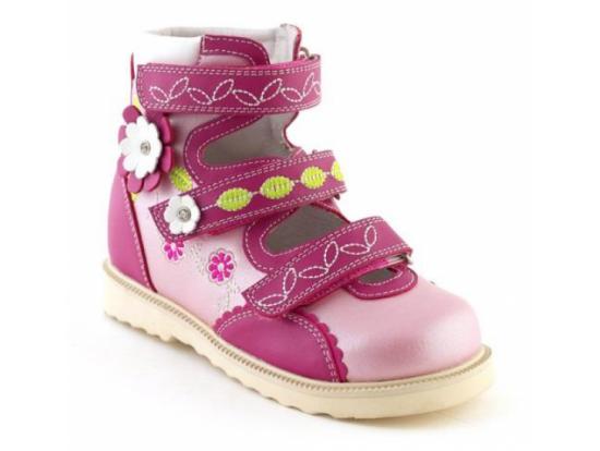 Детская обувь ортопедическая с высоким берцем 13-121 СУРСИЛ-ОРТО
