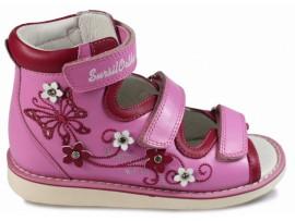 Детская обувь ортопедическая с высоким берцем Сурсил-орто 15-308S