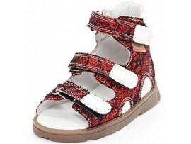 Обувь ортопедическая Footmaster 04B07LGP Афина-Паутинка красный