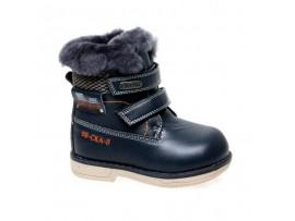 Обувь ботинки зимние Сказка R966219005 темно-синий