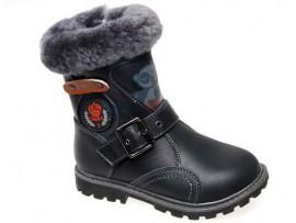 Обувь ортопедическая сапоги зимние Сказка R059506-ВК черный