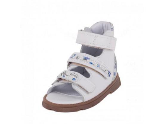 Обувь ортопедическая ФУТМАСТЕР Прометей белый-голубой