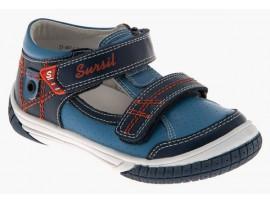 Обувь ортопед санд. детс 55-307-1 т.синий/синий