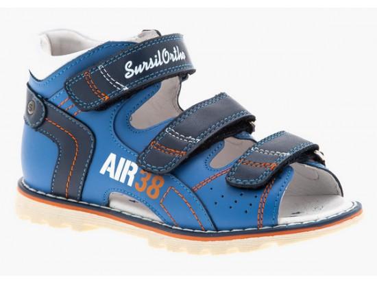 Обувь ортопед. 55-430S синий