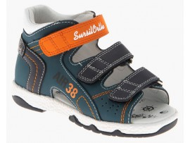 Обувь ортопед. 55-518M синий/оранжевый
