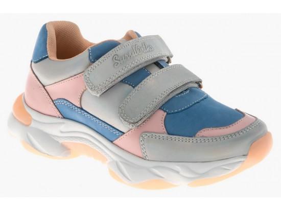 Обувь ортопед. 65-174 голубой/розовый