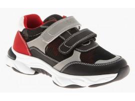 Обувь ортопед. 65-176 черный/серый/красный