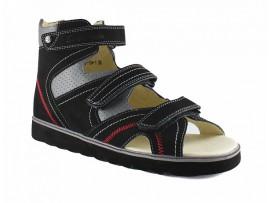 Обувь ортопед. 13-104 -1 черн.серый
