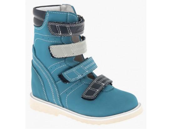 Обувь ортопед. 23-102 голубой/синий
