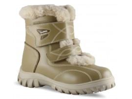 Обувь ортопедическая детская меховая Sursil-Ortho А44-075-2 бежевый
