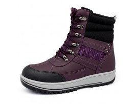 Ботинки ортопедические Сурсил-Орто меховые А45-133 черный/фиолетовый