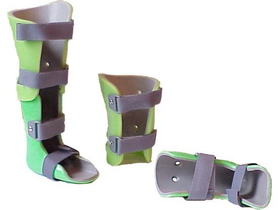 Тутор на всю ногу разъемный безнагрузочный (правый/левый) ТН8-14 Огонек 2Б.08