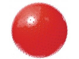 Мяч гимнаст. игольчатый антиразр.VEGA-602/55 красный