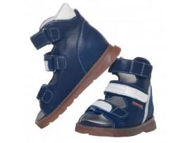 Обувь ортопедическая ФУТМАСТЕР Прометей синий-белый