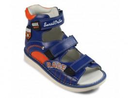 Детская обувь ортопедическая с высоким берцем СУРСИЛ-ОРТО 15-321M