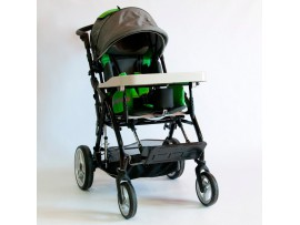 Кресло-коляска инвалидная H-712N-Q (зеленая)