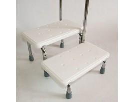 Лесенка для ванной комнаты с поручнем KJT 569