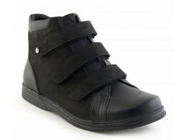 Обувь ортопедические ботинки Sursil-Ortho 29509-2 черные